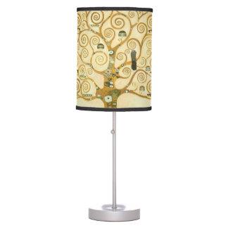 Árbol de la vida de Gustavo Klimt Lámpara De Escritorio