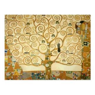 Árbol de la vida de Gustavo Klimt Tarjeta Postal