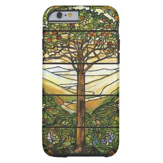 Árbol de la vida/del vitral de Tiffany Funda De iPhone 6 Tough