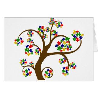Árbol de la vida desconcertado felicitaciones