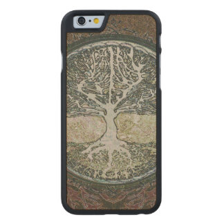 Árbol de la vida funda de iPhone 6 carved® de arce