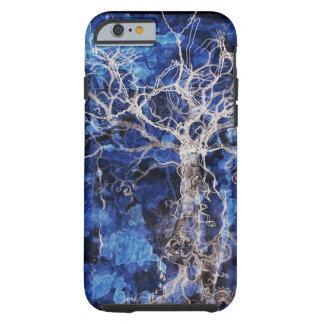 Árbol de la vida gitano azul funda de iPhone 6 tough