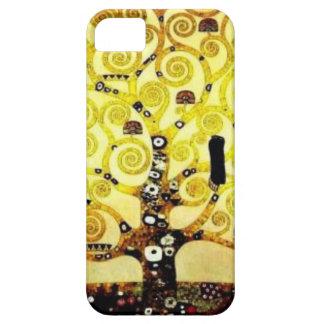 Árbol de la vida Gustavo Klimt iPhone 5 Carcasas
