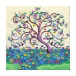 Árbol de la vida impresión en lienzo estirada