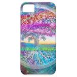 Árbol de la vida iPhone 5 protectores