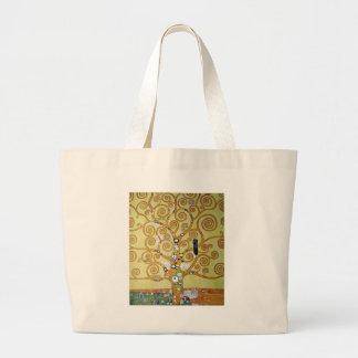 ÁRBOL de la VIDA - Klimt Bolsas De Mano