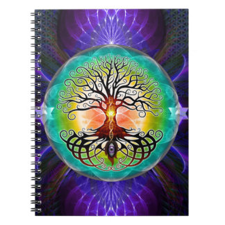 Árbol de la vida libreta espiral
