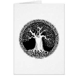 Árbol de la vida (original) tarjeta de felicitación