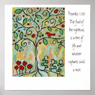 árbol de la vida poster