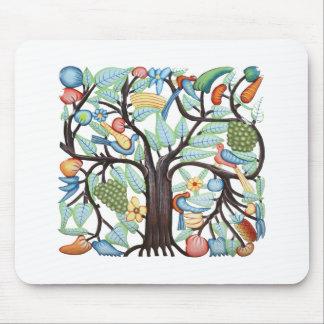 Árbol de la vida - pastel alfombrillas de raton