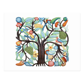 Árbol de la vida - pastel postal