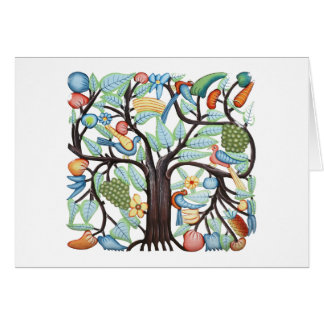 Árbol de la vida - pastel tarjetón