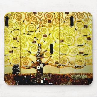 Árbol de la vida por la versión 2 de Gustavo Klimt Mouse Pad