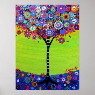 Árbol de la vida por Prisarts Poster