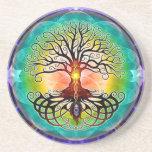 Árbol de la vida posavasos personalizados