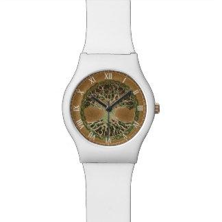 Árbol de la vida relojes de pulsera