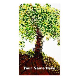Árbol de la vida tarjetas de visita