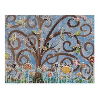 Árbol de la vida tarjetas postales