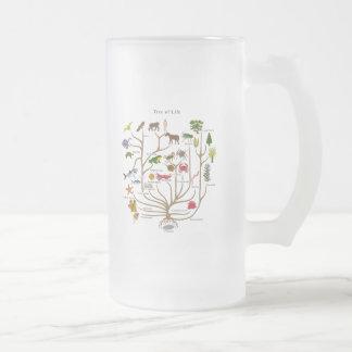 Árbol de la vida taza cristal mate