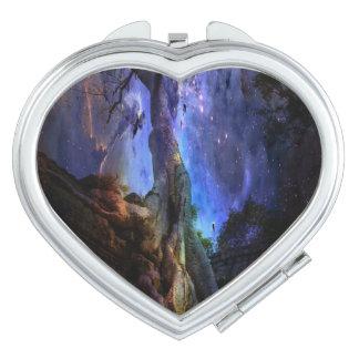 Árbol de la vida universal espejos compactos