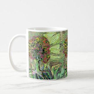 Árbol de la vida vivo pacífico taza de café