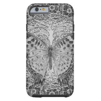 Árbol de la vida y de la mariposa funda de iPhone 6 tough