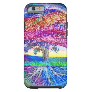 Árbol de las bendiciones de la vida funda de iPhone 6 tough