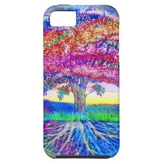 Árbol de las bendiciones de la vida iPhone 5 Case-Mate cobertura