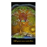 Árbol de las ilustraciones de la vida tarjeta de visita