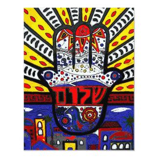 ÁRBOL de las invitaciones del mitzvah del palo de Comunicado