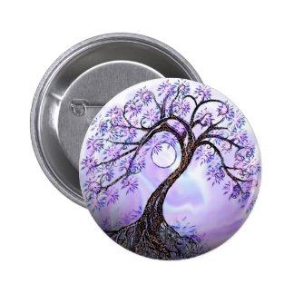 Árbol de Lavendar de la vida Pin Redondo 5 Cm
