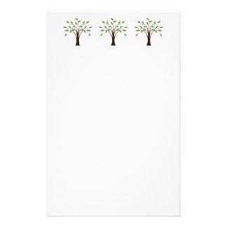 Árbol de los árboles simples de la vida en genealo papelería
