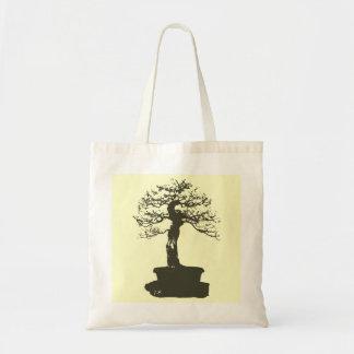 árbol de los bonsais bolsa tela barata