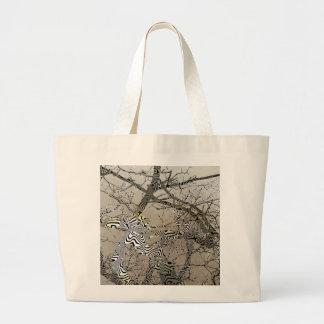Árbol de los bonsais bolsa tela grande