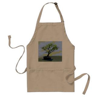 Árbol de los bonsais de las glicinias delantales