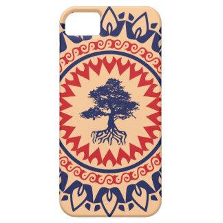 Árbol de los bonsais del modelo del vintage de funda para iPhone SE/5/5s