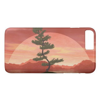 Árbol de los bonsais del pino escocés - 3D rinden Funda iPhone 7 Plus