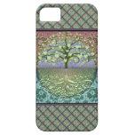 Árbol de los corazones y del amor de la vida iPhone 5 fundas