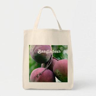 Árbol de mango de Bangladesh Bolsa Lienzo
