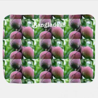Árbol de mango de Bangladesh Manta De Bebé
