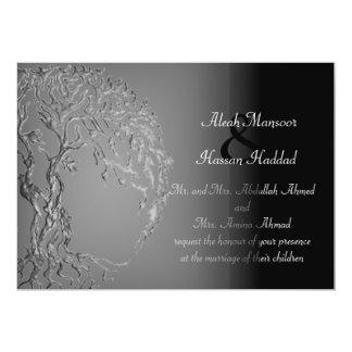 Árbol de Mehndi de la vida (alheña) (plata) Anuncio