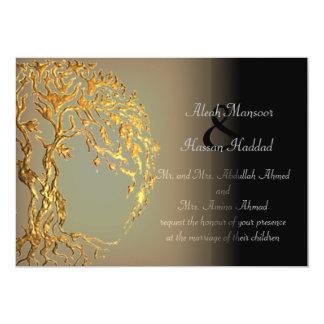 Árbol de Mehndi de la vida (oro) Anuncio