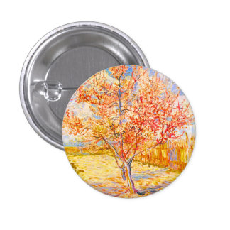 Árbol de melocotón de Vincent van Gogh en arte del Pin