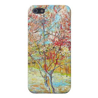 Árbol de melocotón en la floración en Arles, Van G iPhone 5 Carcasa