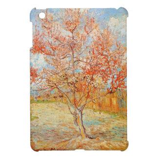 Árbol de melocotón rosado de Van Gogh en caso del