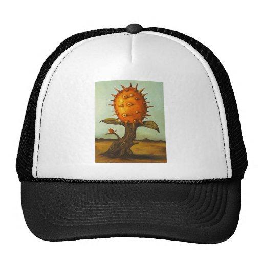 Árbol de melón surrealista gorros