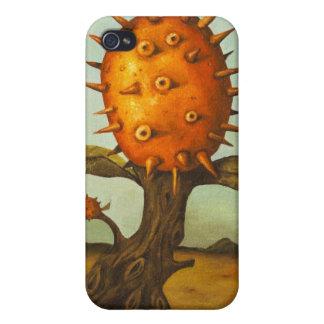 Árbol de melón surrealista iPhone 4/4S carcasa