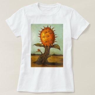 Árbol de melón surrealista playera
