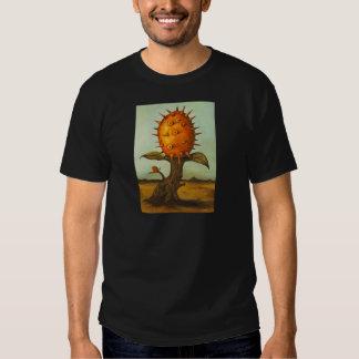 Árbol de melón surrealista polera