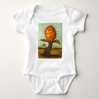 Árbol de melón surrealista remera